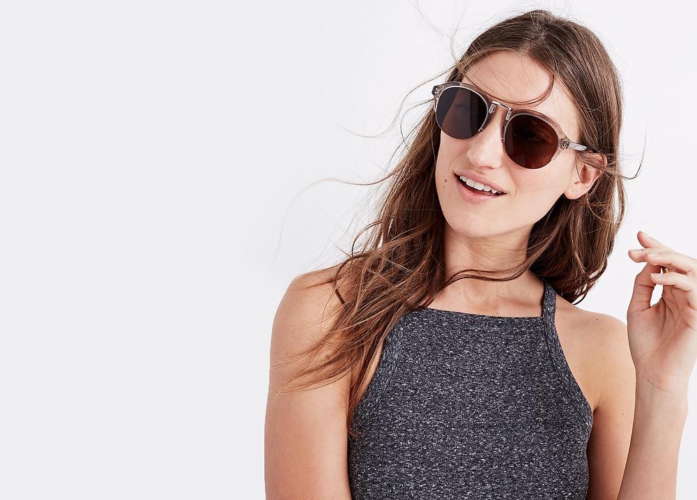 Madewell Memphis Sunglasses now $44.99