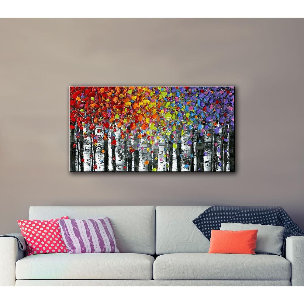 ArtWall Susanna Shaposhnikova's Birch, Gallery Wrapped Canvas $31.44