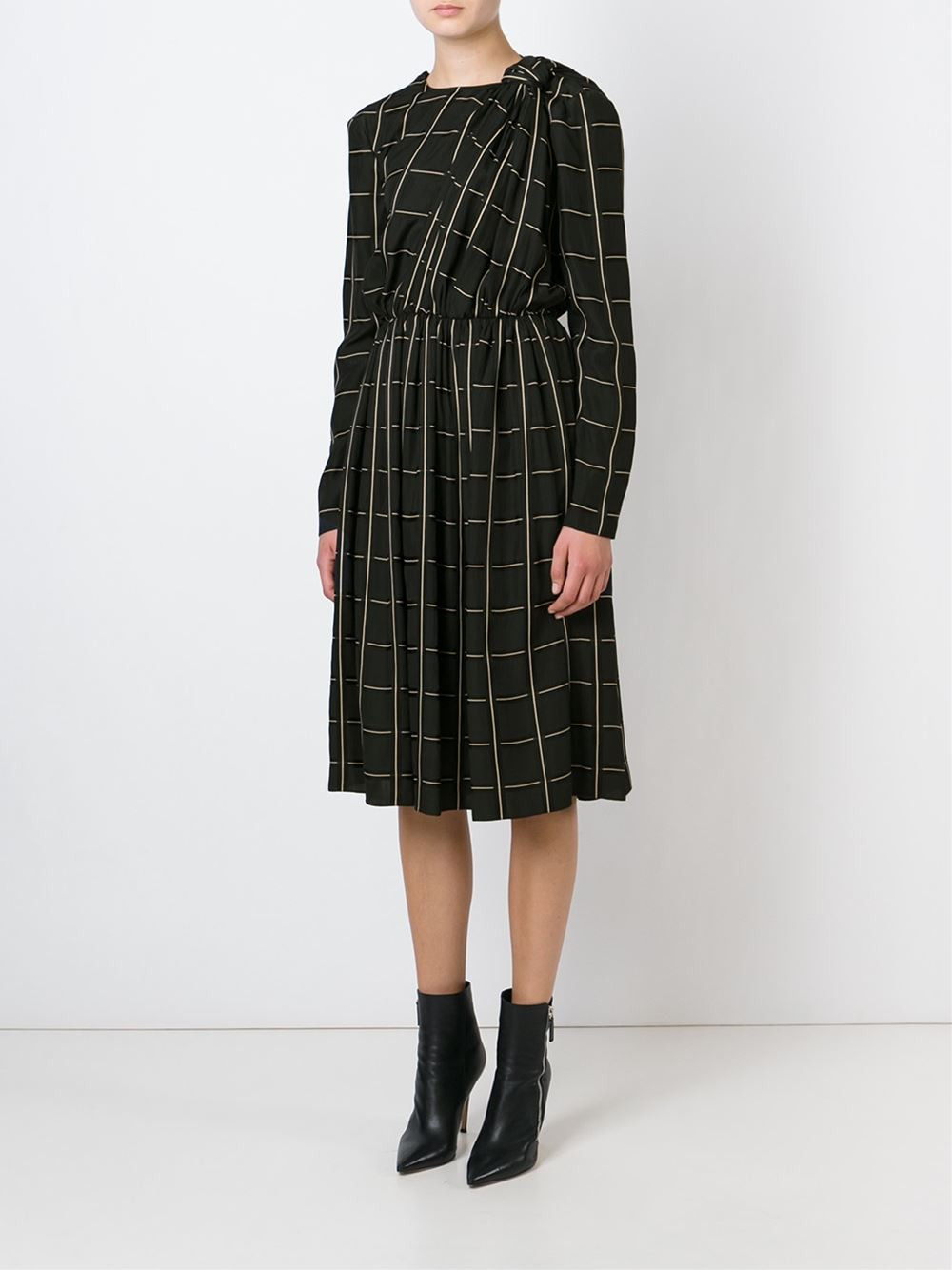 Lanvin Checked Dress now $2,394