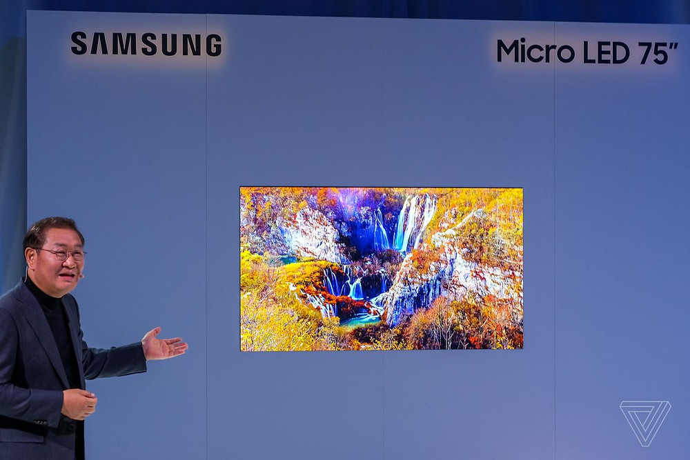 Samsung's 75-inch MicroLED 4K TV is a huge step into the future - Read More from The Verge