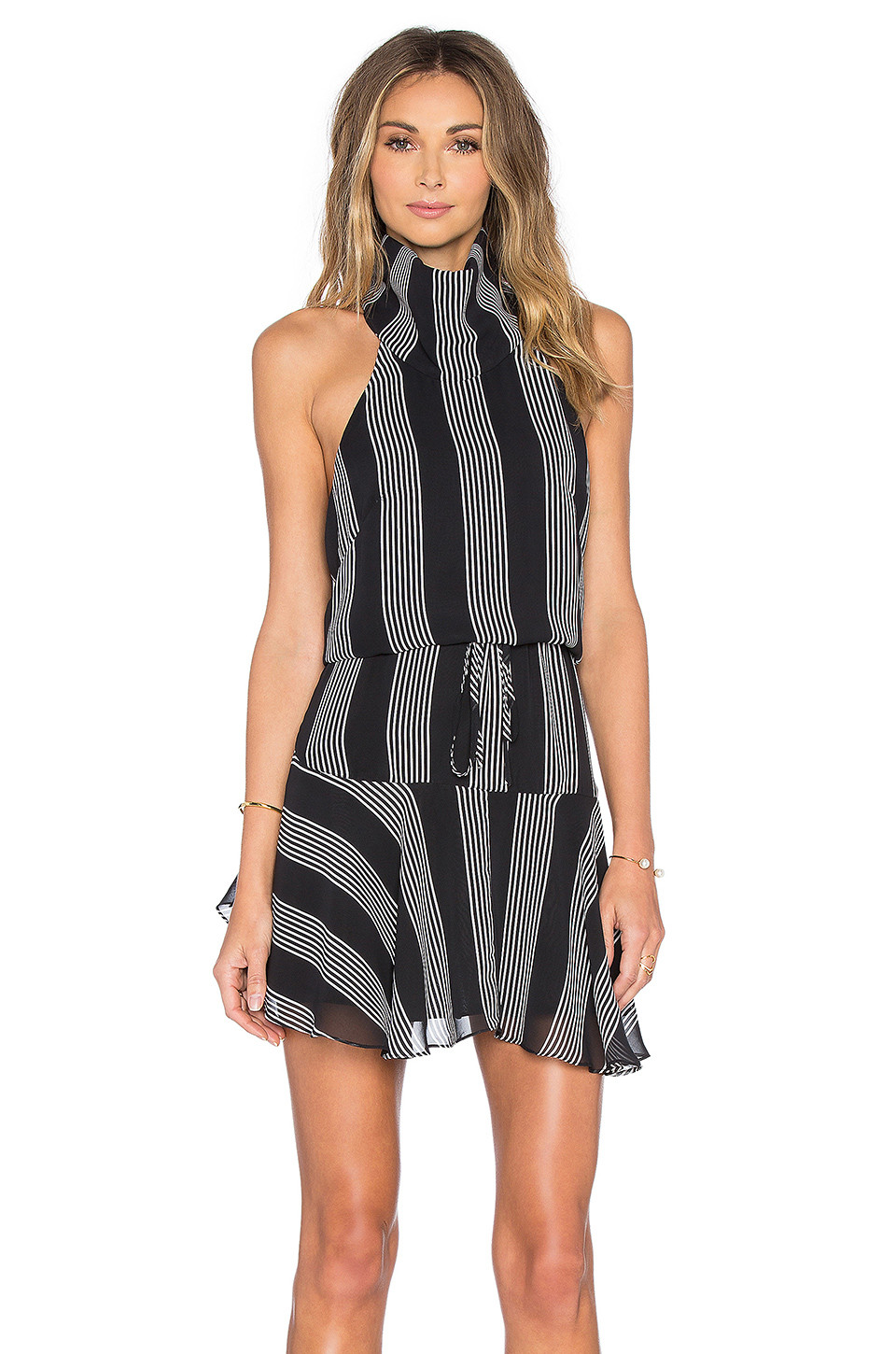 Shona Joy high neck mini dress $279