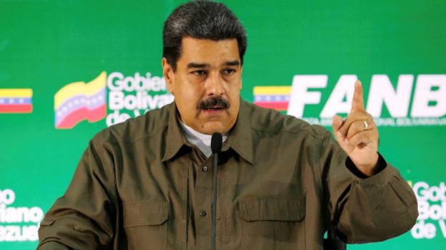 Venezuela: Military figures arrested after drone 'attack' - Read More from BBC News