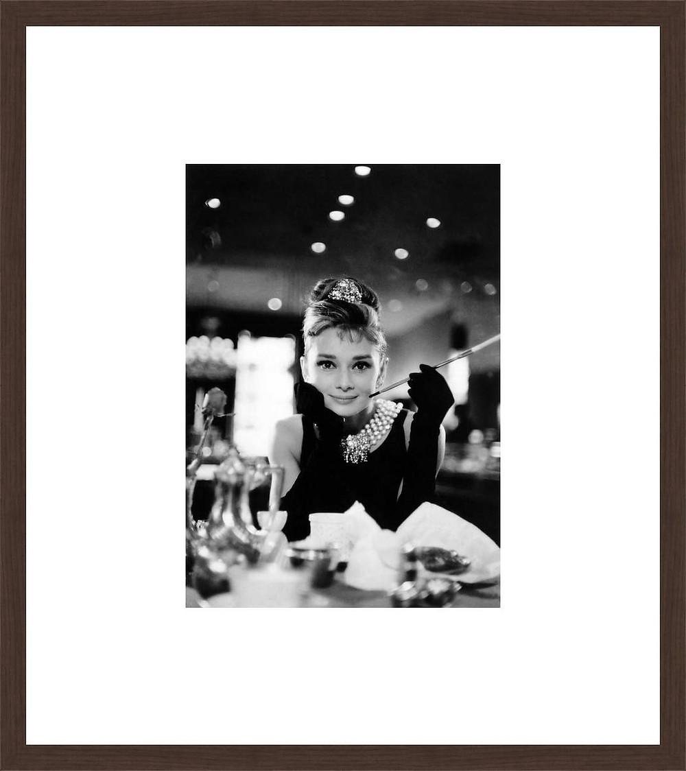 Holly Golightly II (Audrey Hepburn) $129 at Lumas-Check out more artwork at Lumas.com