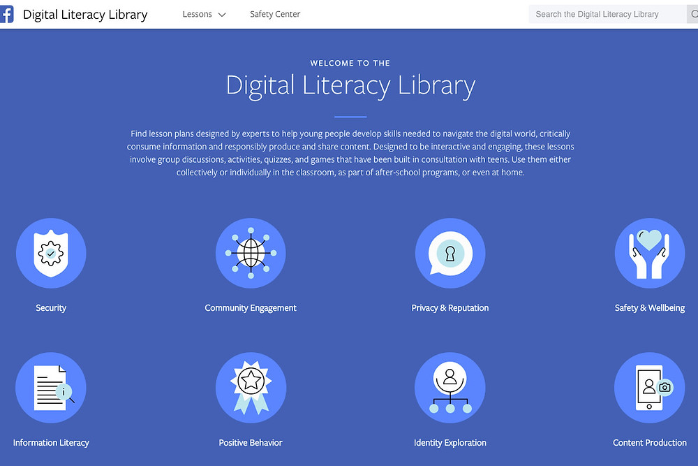 Facebook launches Digital Literacy Library to help young people use the internet responsibly - Read More from The Verge
