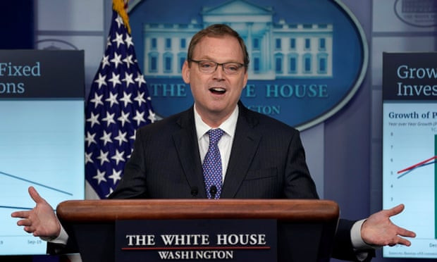 White House adviser admits Trump got his facts wrong in economy tweet - Read More from The Guardian