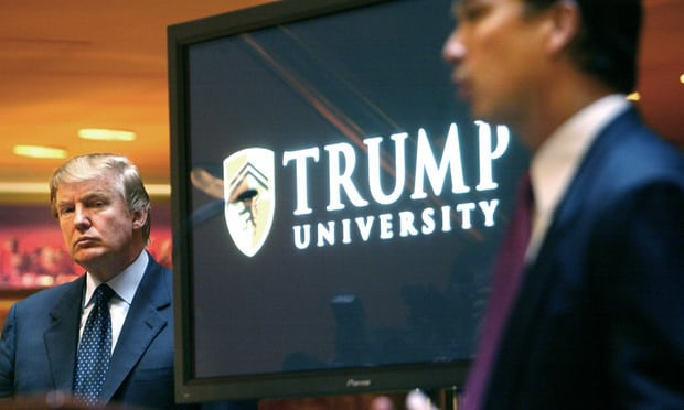 Trump University: court upholds $25m settlement to give students' money back - Read More from The Guardian