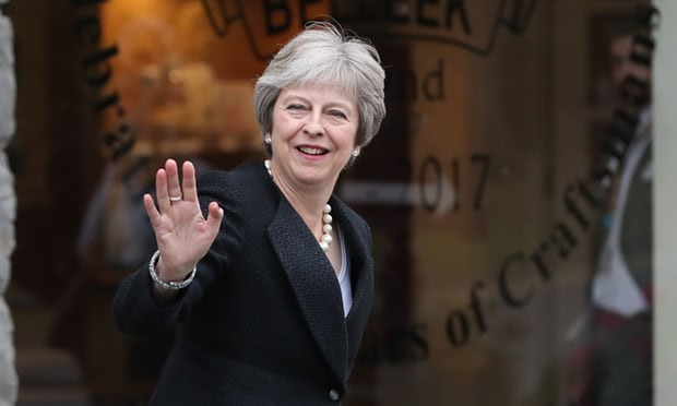 Theresa May: I will never accept EU's ideas on Irish Brexit border - Read More from The Guardian