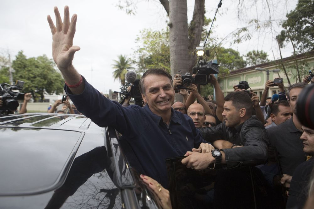 Brazil's Strongman Closes in on Presidency After Round-One Rout - Read More from Bloomberg News