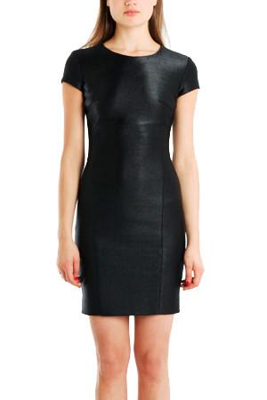 L'AGENCE fitted Raffia dress $165