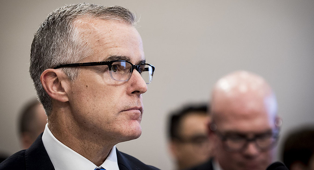 McCabe, fired from FBI, launches legal defense fund - Read More from Politico