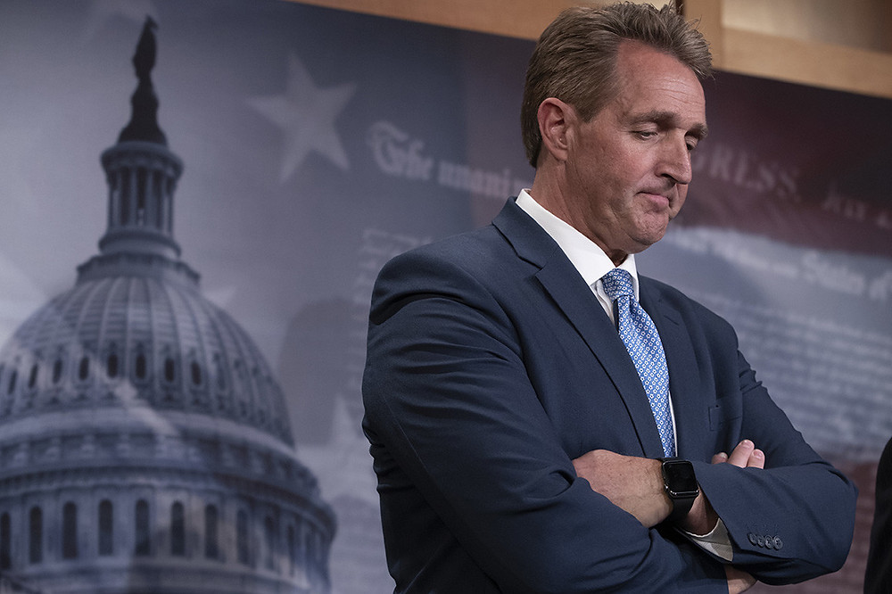 Flake: Firing Sessions would be the 'first domino to fall' - Read More from Politico