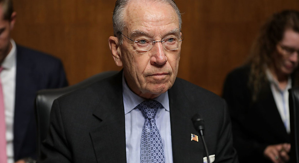 Grassley seeks DOJ documents on official's contacts with dossier author - Read More from Politico