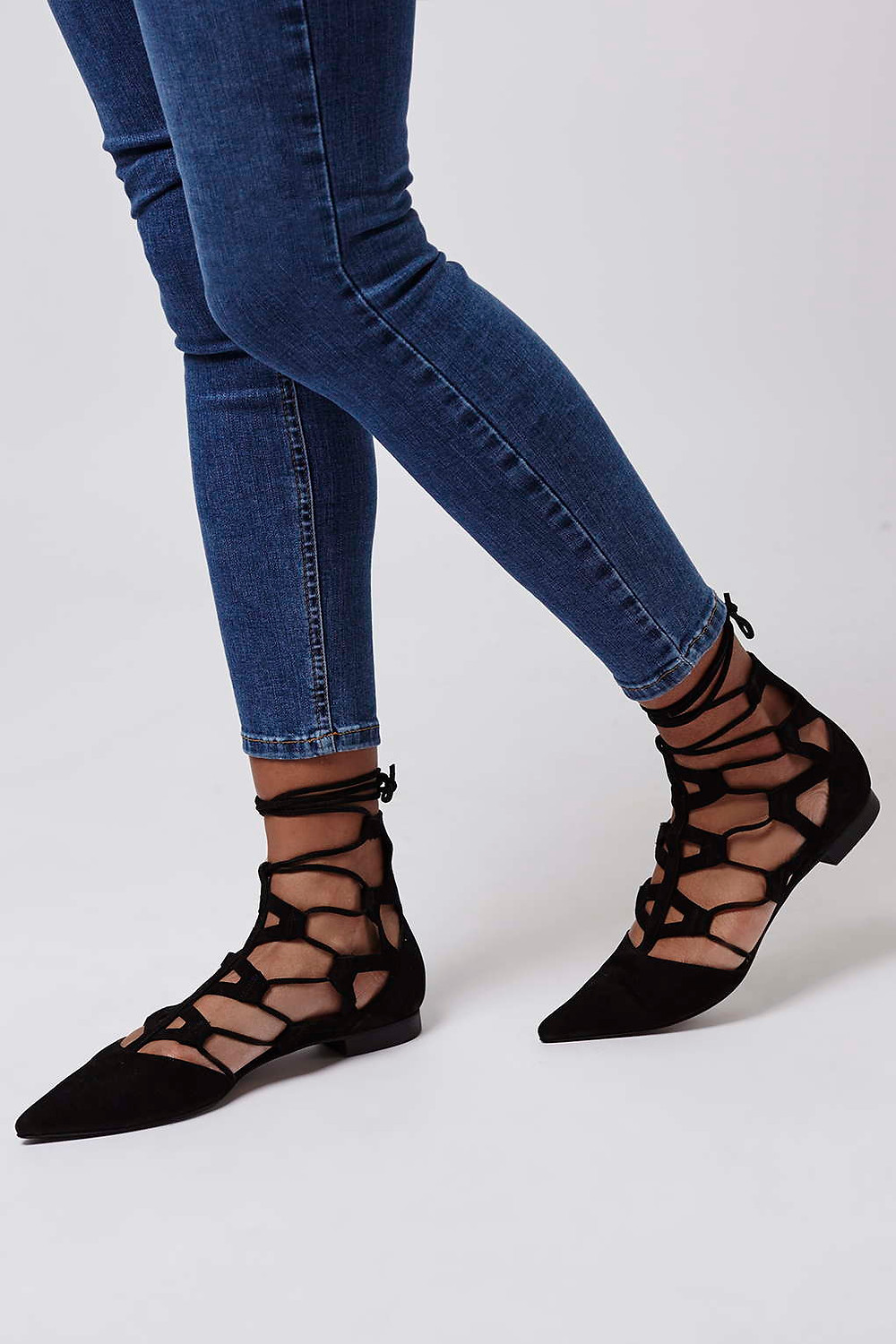 Topshop Limited Edition POSY Ghillies-$180