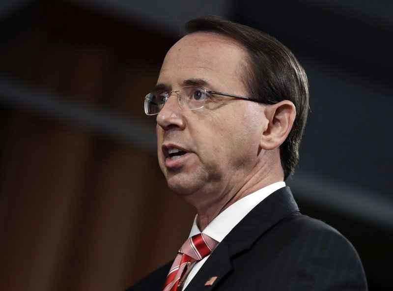 Conservative caucus calls on Rosenstein to testify - Read More from Associated Press