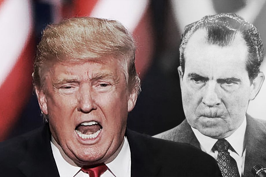 Donald Trump has committed the exact offense that forced Richard Nixon to resign - Read More from Vox