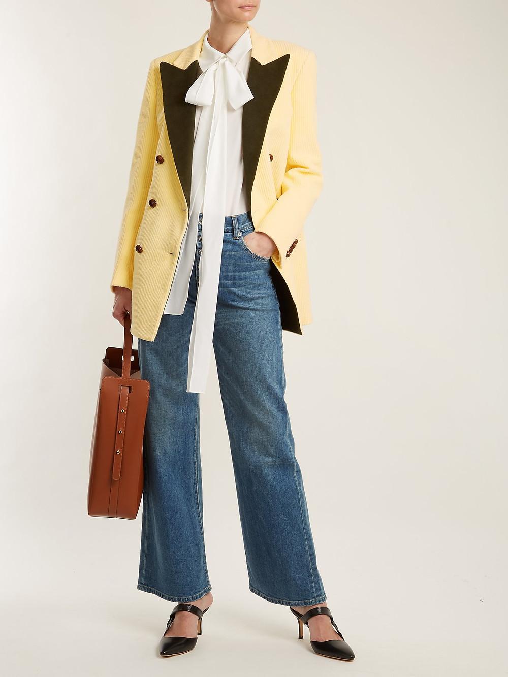 Blazé Milano Classic Touch Everyday velvet-lapel blazer $599