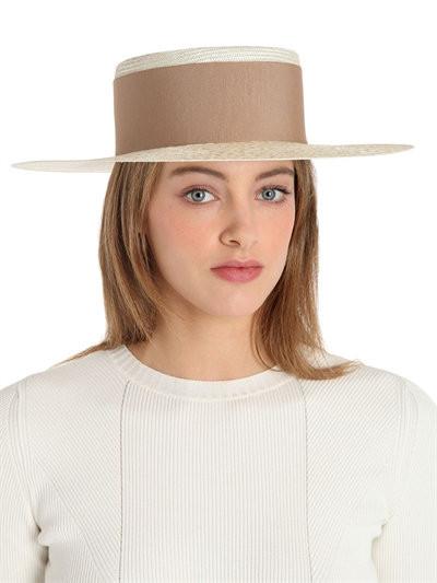 ALEX Straw Boater Hat now $189