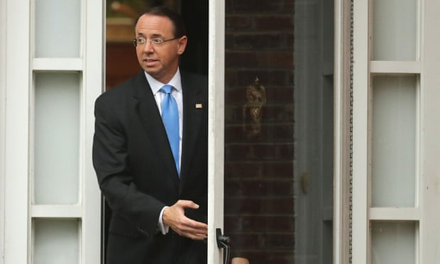 Trump meeting with Rosenstein may be delayed again, says White House - Read More from The Guardian