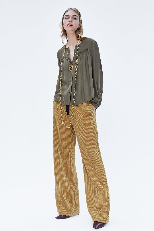 Zara Corduroy Pajama Pants $49.90