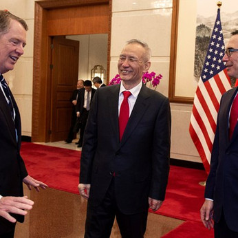 U.S., China resume trade talks in Beijing after 'productive working dinner'
