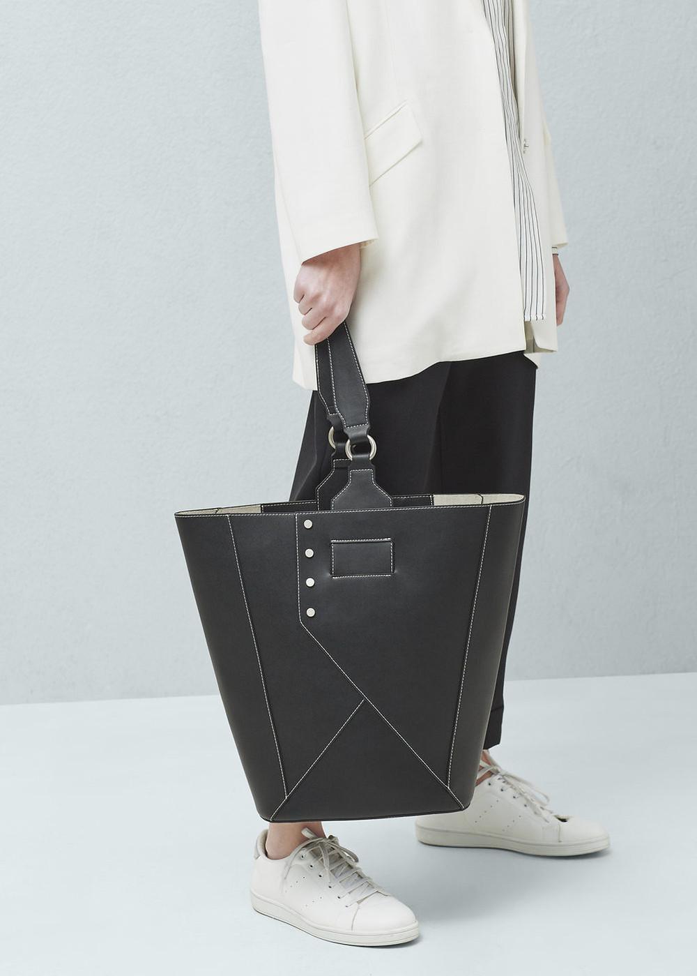 A Shopper bag by Mango $79.99