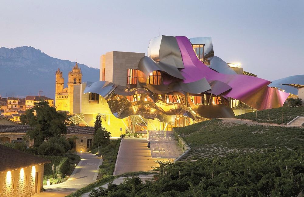 Hotel Marques Des Riscal in Elciego, Spain