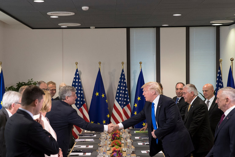 In NATO Speech, Trump Is Vague About Mutual Defense Pledge - Read More from The New York Times
