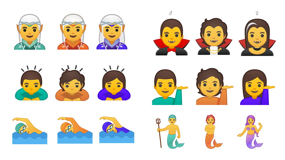 Google Is Releasing More Than 50 New Gender-Inclusive Emoji - Read More from Gizmodo