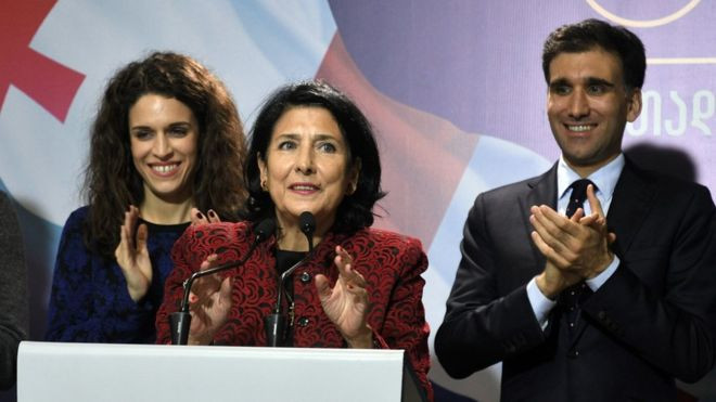 Georgia elects Salome Zurabishvili as first woman president - Read More from BBC News
