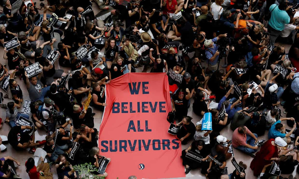 'It's time for women to be heard': thousands protest Kavanaugh in Washington - Read More from The Guardian