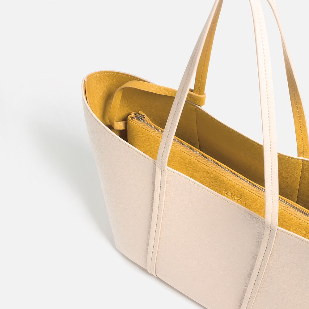 A tote bag by Zara-This is reversible $39.90