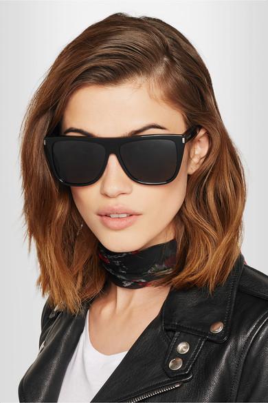 Saint Laurent D-Frame acetate sunglasses $304