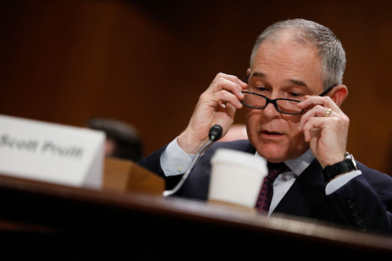EPA docs don't show any scientific evidence for Scott Pruitt's climate claims - Read More from Ars Technica