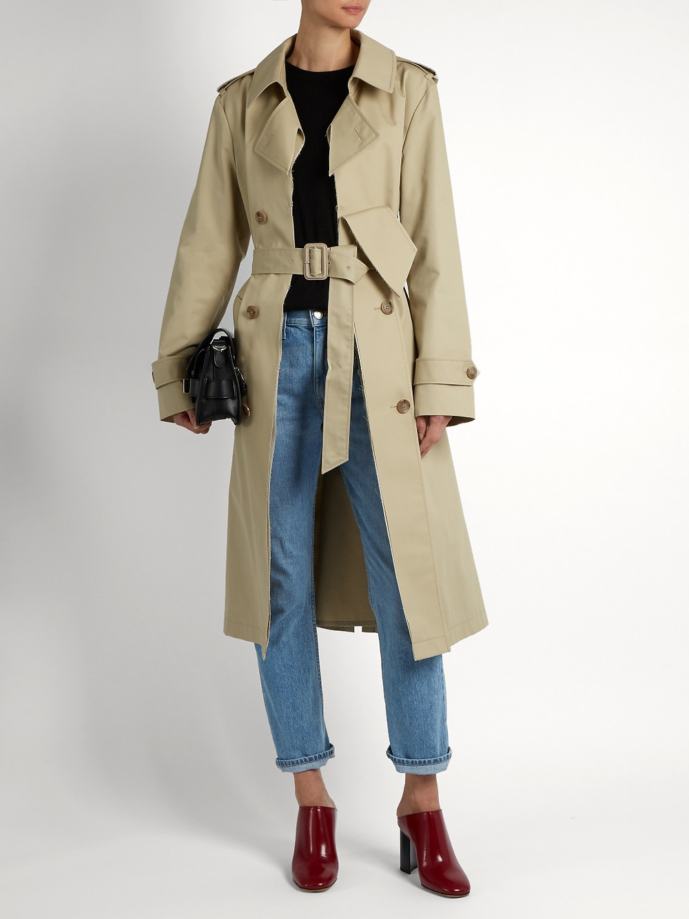 Maison Margiela Water-repellent trench coat $794