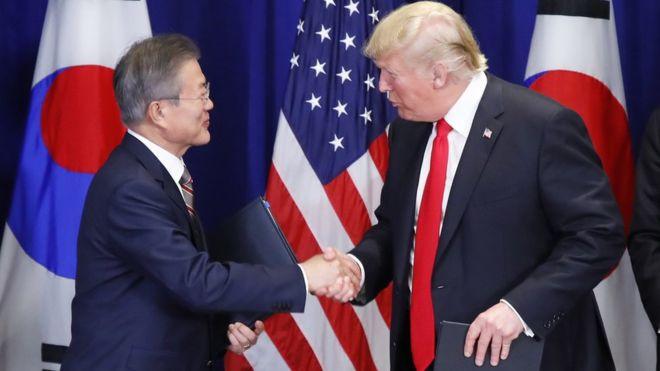 Donald Trump hails South Korea trade deal - Read More from BBC News