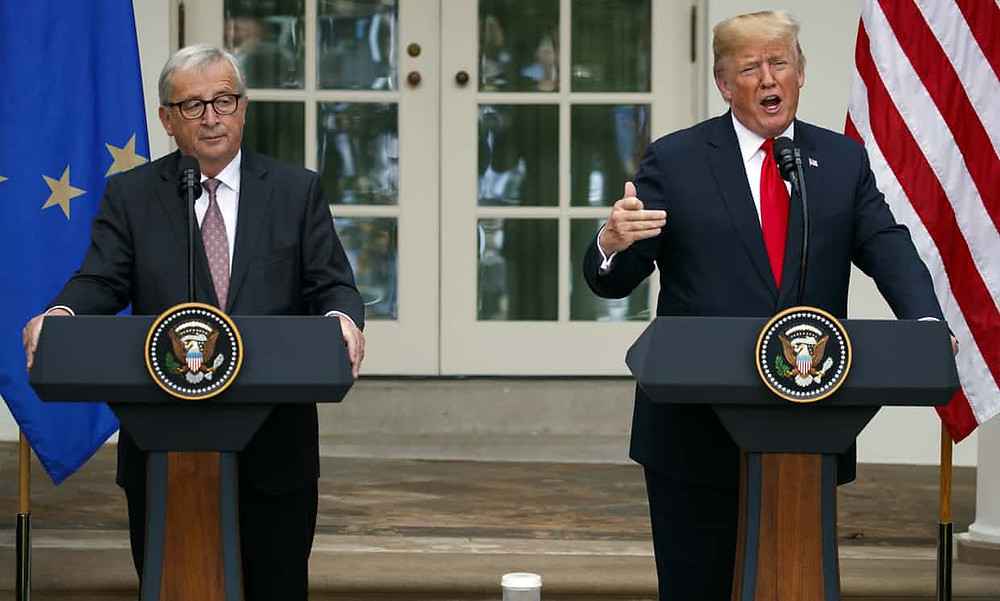 Trump and EU officials strike 'zero tariff' deal to avert trade war - Read More from The Guardian