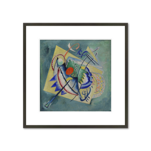 Red Oval by Artist Vassily Kandinsky $219 at 1000 Museums-Check out more artwork at 1000 Museums