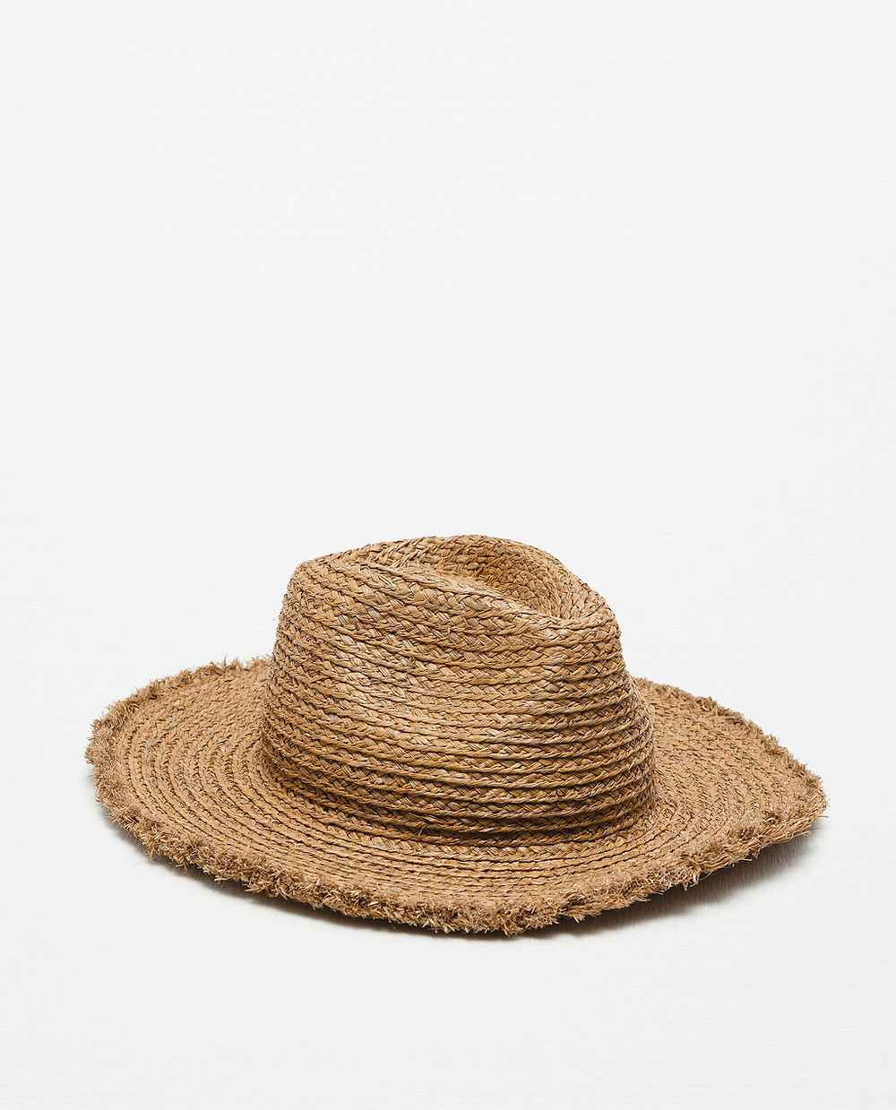 Zara Wide Brim Straw Hat $29.90