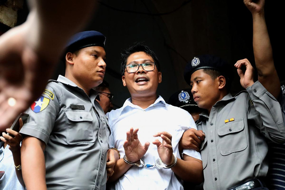 Myanmar judge jails Reuters reporters for seven years in landmark secrets case - Read More from Reuters