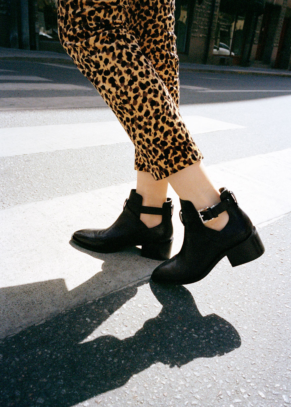 & Other Stories Cut Out Ankle Boot $179