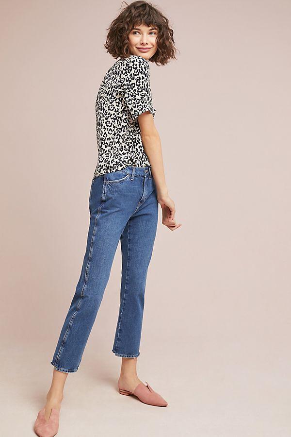 Lily & Lionel Leopard Silk Buttondown $169.95