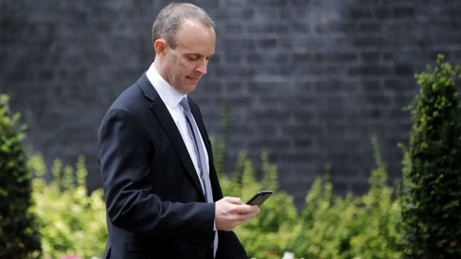 New Brexit Secretary Dominic Raab set for talks with EU - Read More from BBC News