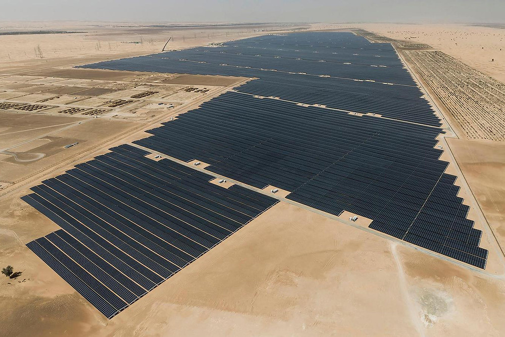 UAE debuts the world's largest individual solar power project - Read More from Engadget