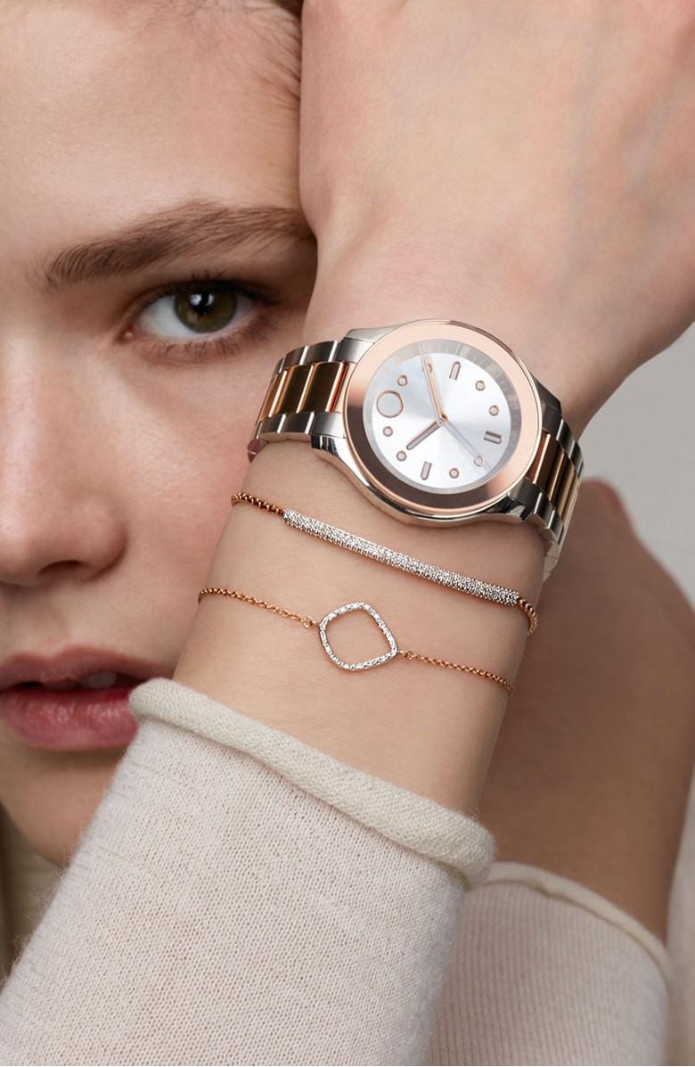 Monica Vinader Riva Kite Adjustable Diamond Bracelet $165.90-$195.90