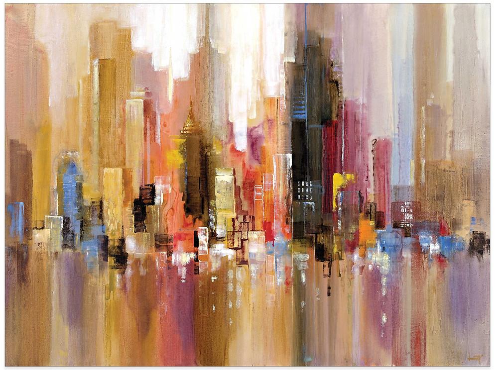 City Spree Canvas Wall Art $67.99