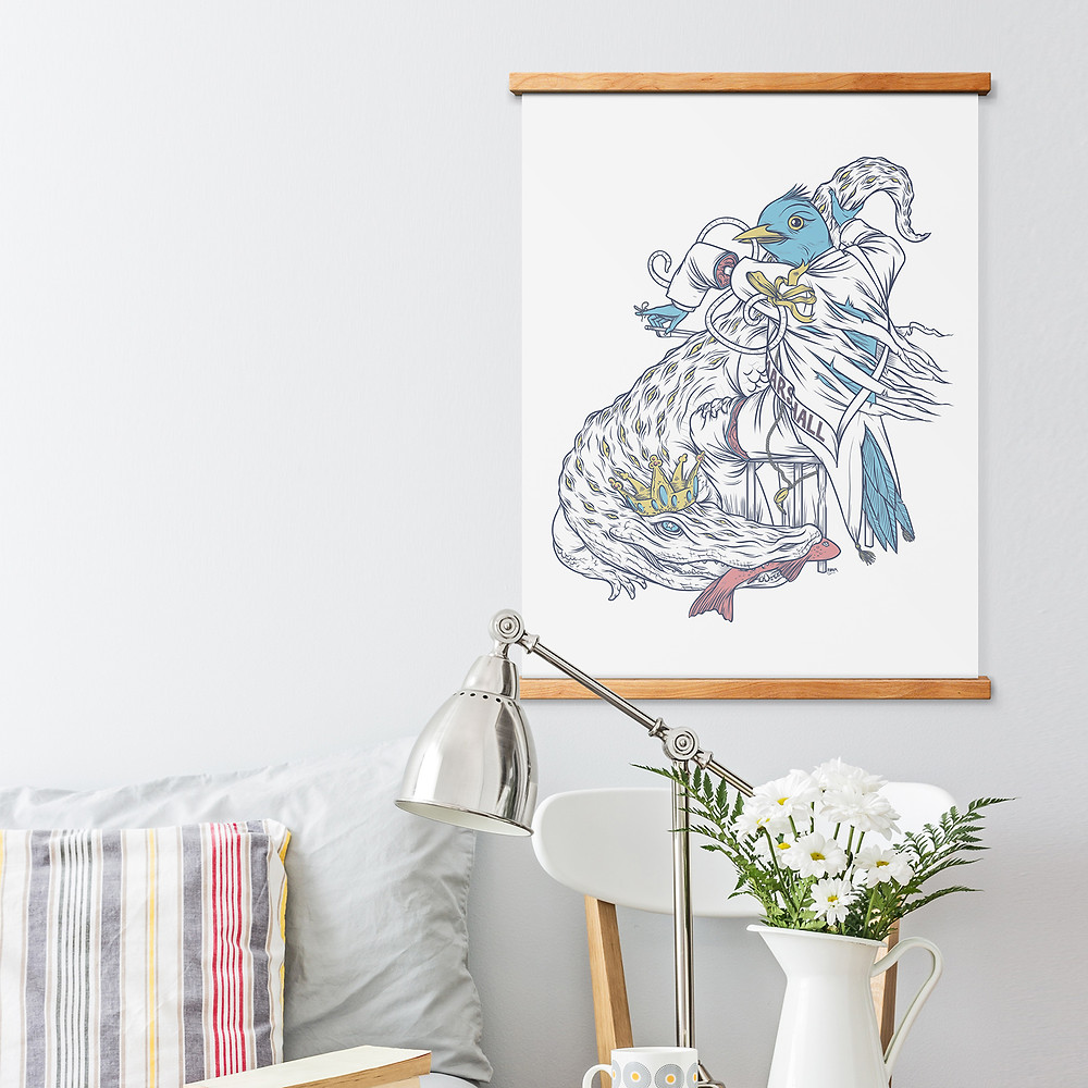 STiiCKs® Magnetic Poster Frame-price starts at $20-for more magnetic frames take a look at wearewellmade.com