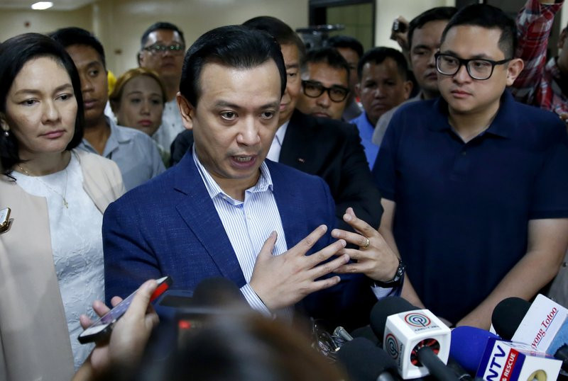 Philippine senator defies Duterte's arrest order in standoff - Read More from Associated Press