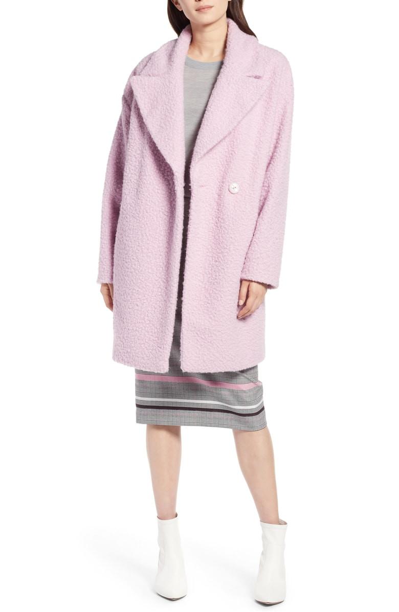 Halogen Bouclé Coat $132.90