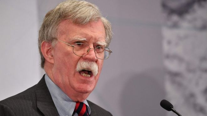 US-Iran: John Bolton warns Iran of 'hell to pay' if crossed - Read More from BBC News