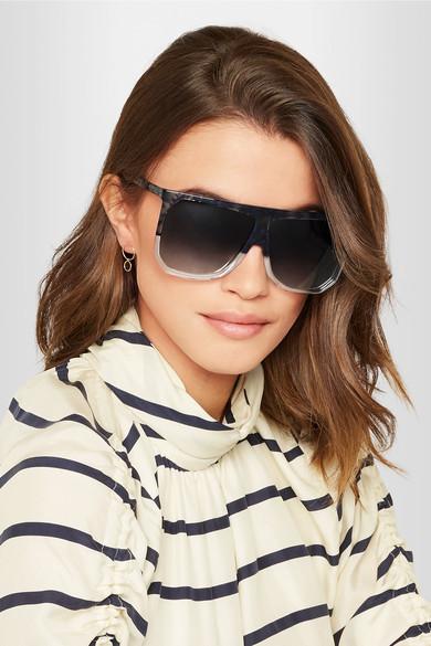 Loewe Filipa D-Frame acetate sunglasses $450